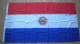 Paraguay Large Country Flag - 3' x 2'.